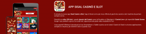 sisal mobile casino