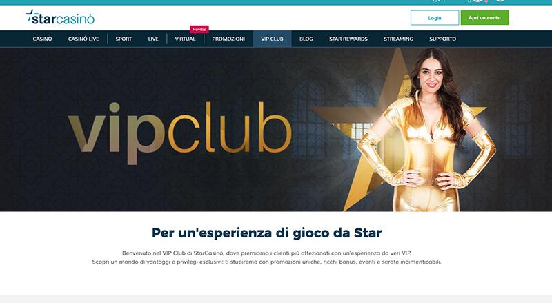 club vip starcasino website