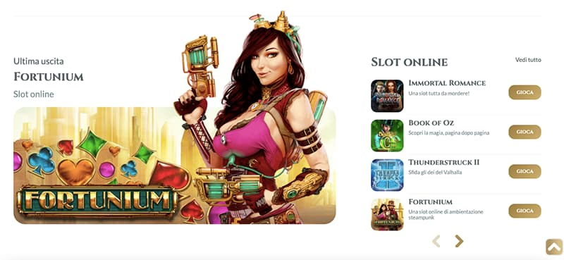 voglia di vincere casino online giochi